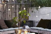 outdoor living. / vintageluxe outdoor living inspiration