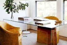 workspace. / vintageluxe studio space inspiration