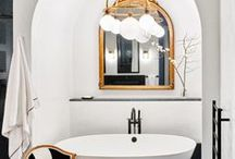 bathroom. / vintageluxe bathroom design inspiration