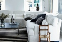 living room inspirations / by Kati