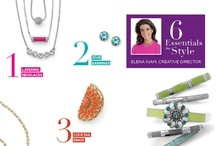Elena's 6 Essentials for Style / Trends come and go but these six essential looks last from season to season. lia sophia offers many choices in each of these looks to help you build your wardrobe with fashion jewelry.