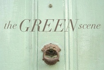 """the green scene / Green is """"the"""" color of the year! And the best part is there's a shade for everyone."""