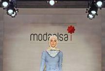 Defilemizdeki Elbiseler / Modanisa Tesettür defilede göz dolduran birbirinden güzel tasarımlara bir göz atmaya ne dersin?  / by Modanisa