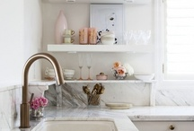 kitchens / by Ashley Mills {the handmade home}