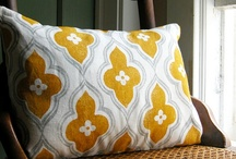fabric / by Ashley Mills {the handmade home}