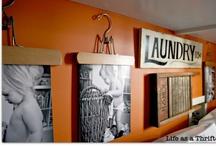 Laundry room ideas / by Rosalyn Wilson