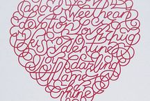 Lettering, calligraphy & typography / All things beautiful in typography, lettering and hand lettering design