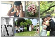 Mr. & Mrs. Holter 5|18|13 / Ideas for our big day. Vintage, classical. Ivory, Black, and Blush Pink. 1920s