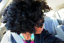 My Natural Hair, My Way / How I style my natural hair. Easy natural hair styles for 4b/4C Hair