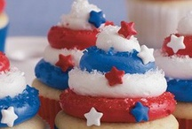 Summertime fun / Memorial day, Father's day, 4th of July, Joe's birthday, & Summer ideas and decorations.