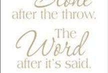 words that speak to soul
