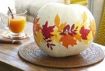 Thanksgiving / Turkey day menu, autumn decorations and other fun ideas.