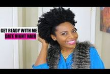 Natural Hair Styling Tutorials (Video) / Quick & Easy #naturalhair styling videos for 4b/4c Hair