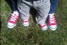 Matchy Matchy Fashion - Kids & Us / Brothers and Sisters matching?  Mom & Son/Daughter? So cute...  We love it!