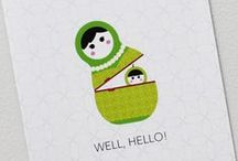 Welcome Baby! / Cute and adorable greetings to congratulate new moms and dads.