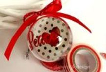 Christmas / #christmasdecoration #handmadechristmas #handmadegift #giftideas #addobbinatale