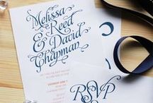 Modern Romantic / Ready to go, print-it-yourself modern romantic wedding invitations and stationery http://shop.illknowitwheniseeit.com