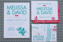 Dancing Robots / Ready to go, print-it-yourself dancing robots wedding invitations and stationery http://shop.illknowitwheniseeit.com