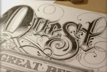 Typography / by Katrina