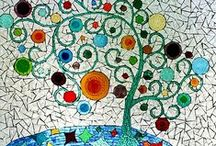 Stained glass- mosaics