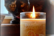 Diamond Candles Love / Even animals and babies love our Diamond Candles.