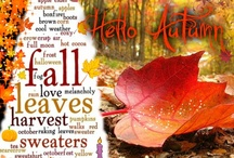 Fall Into Autumn / Autumn is my favorite season. / by Dana Darling