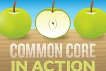 Common Core. / Need guidance implementing the Common Core? Take a look at these helpful resources to bring creativity to the standards. / by edutopia