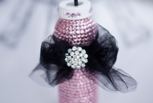 Pink and Black Baby Girl Shower