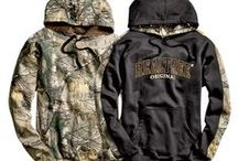 Great Outdoors / Gear up for outdoor adventures with camo print clothing, accessories, and home decor!