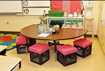 Classroom Spaces / Looking for inspiration to design and organize your classroom space? Check out these creative resources for making the most of your learning area.