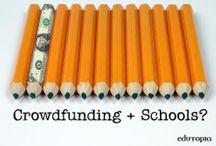 Crowdfunding. / Looking to raise some extra money for your school or classroom? Crowdfunding is a great way to raise funds using the Web. / by edutopia