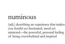 Otherwordly.