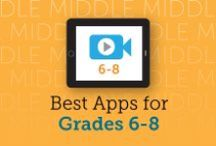 Edu Apps (Grades 6-8) / Edutopia and Graphite have compiled some of the best resources to help you find apps, learn about best practices, and explore ideas for engaging activities. / by edutopia