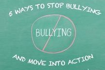Bullying Prevention. / October is National Bullying Prevention Month. Explore how parents, educators, students, and communities can work together to address the causes and effects of bullying and cyberbullying.  / by edutopia