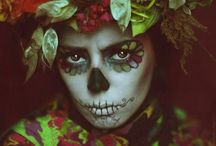 Dia de los Muertos / Sugar skulls and other beautiful imagery surrounding the day of the dead.