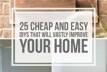 DIY Weekend or Home Improvement Projects / Many people think spring is the season for home improvement, but it can be done all year round with the right inspiration. Explore easy DIY projects, home makeover ideas, decorating tips, and more!