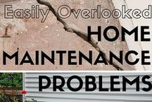 Home Maintenance / Ideas for keeping your home maintenance updated and in tip top shape!