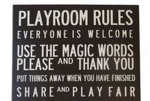 Kid's Playroom ideas / Unique Play Room ideas for your children to have fun with their friends in.
