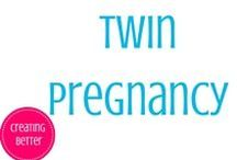 Twin Pregnancy / Follow my journey throughout our twin pregnancy.  Including weekly updates, twin must have's, and much more!