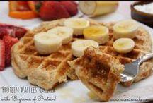 Moni's Breakfast Recipes / Healthy and Delicious feel you up and feel you good breakfast recipes by Monica Nelson of www.monimeals.com.