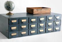 Cabinets Consoles Credenzas / by Jen Kollar