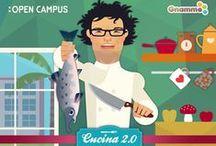Foodie Geek Dinner / La Foodie Geek Dinner è la cena offline per chi si conosce on line. Quello che era geek diventerà food durante la cena. L'abbiamo ideata io e Francesca Gonzales