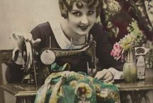 Be a Sew 'n Sew:  Past Pattern Inspiration / I've been sewing all my life, and continue to be inspired by how they used to do it.  The methods and madness of sewing move on through the ages!