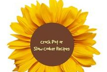 Crock Pot / Slow Cooker Recipes / Recipes to make using a crock pot or slow cookers. One pot easy meals...