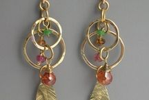 Jewelry - Facets / Sparkly and rich featuring gemstones, crystals, bright silver, and yellow gold.