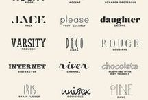 Fonts and graphic / by Patrizia Corriero