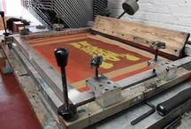 Screen Printing Process / Studios - Tools - Tutorials - Tips - Resources