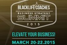 BLC Business Strategy Summit 2015 / Learn about the 1st ever Black Life Coaches Business Strategy Summit to be held in Washington, DC in March of 2015! Get to know the speakers, the topics, and what you can learn in this high-value, no lip service event! Follow the hashtag #BLCSummit15 to network with us, the speakers, and other attendees!