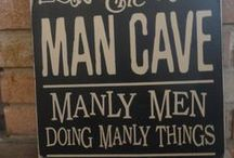 Inside the Mancave ...
