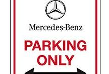 Mercedes parking only